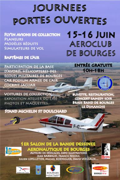 1er salon bd aéro Bourges